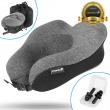 U-Shaped Memory Foam Rebound Travel Pillow Neck Support Head Rest Airplane Sleep