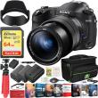 Sony Cyber-Shot RX10M IV Camera DSC-RX10M4 Zeiss 24-600mm Lens Travel Kit Bundle
