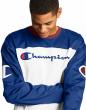 Champion Life Football Jersey Men Script Big C Logo Long Sleeve Authentic Ribbed