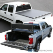 For 89-04 Toyota Tacoma Pickup 6FT Short Bed Soft Black Trifold Tonneau Cover