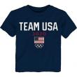 Team USA Toddler 2020 Summer Olympics Road to Tokyo Identity T-Shirt - Navy