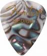 Fender 351 Premium Celluloid Guitar Picks - MEDIUM, ABALONE - 12-Pack (1 Dozen)