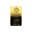 1/100 oz .9999 Gold Bar by Scottsdale Mint - Fractional Gold Bullion #A504