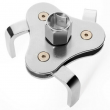 2 Way Oil Filter Wrench Auto Adjustable Universal 3-Jaw Remover Socket 1/2 3/8