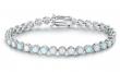 Fire Opal Tennis Bracelet by Peermont - NEW