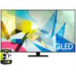 Samsung 85-inch Class Q80T QLED 4K UHD HDR Smart TV (2020) w/ Warranty Bundle