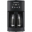 Cuisinart DCC-500 Coffee Maker 12-Cup Programmable Coffeemaker - Black
