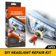 DIY Headlight Restoration kit Car Front Light Fog Lamp Lens Cleaning Restoration