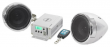 Soundstorm 600w Motorcycle Audio System w/Handlebar Speakers+Bluetooth Amplifier
