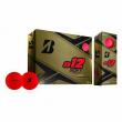 Bridgestone Golf Series e12 Soft 3-Piece Distance Golf Balls, Red (1 Dozen)