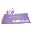 HEAD 481252GULILI Adventure Combo Snorkeling Mask and Backpack Towel Bag, Purple