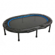 Stamina Oval Fitness Rebounder Trampoline for Home Gym Cardio Exercise Workouts