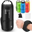 Waterproof Floating Dry Bag Backpack with 2 Exterior Zip Pocket