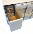 Penthouse Card Storage Box System for Toploaders,One Touch Magnetic Holders, CS2