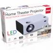"""RCA  Projector 2000 Lumens 480p, 1080P compatible 150"""" Picture Size - RPJ136"""