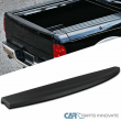 For 09-18 Dodge Ram Pickup Black Tailgate Top Cap Protector Spoiler Cover