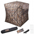 Portable Pop Up Hunting Ground Blind Tree Camo Tent 2 Persons Weather Resistant