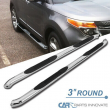 "For 11-19 Ford Explorer 4Dr 3"" Polished Chrome Stainless Steel Side Step Bars"
