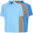 Greg Norman Men's MicroLUX Solid Polo Golf Shirt, Brand New
