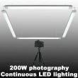 Total 200W LED Studio Photography Continuous Light Pure White Color Bright Lamps