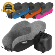 Memory Foam U Shaped Travel Pillow Neck Support Head Rest Car Plane Soft Cushion