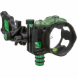 IQ Pro One Bowsight w/ Retina Lock - Single Pin - Black, Right Hand - IQ00348
