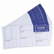 24x Dog Vaccination Record Card, Puppy Vaccine Shot Health Record for Cannie