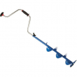 StrikeMaster Mora Hand Ice Auger - Blue
