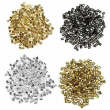 Crimp Tube Beads - 1000-Piece Tube Crimp Beads for Jewelry Making