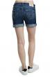 New With Tags Women's Denim Jean Bermuda Shorts True Religion Big T Roll Short