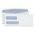Universal UNV36301 Double Window Check Envelope, #9, 3 7/8 x 8 7/8 (White) New
