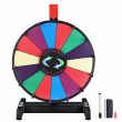 """WinSpin 12"""" Editable Color Prize Wheel Fortune Spin Game 14 Slots Tradeshow"""