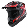 1Storm Adult Motocross Helmet Motorcross ATV MX BMX Dirt Bike Racing Red