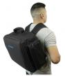 Rockville RLBP6 Padded BackPack For 6 Par Lights Bag with Dividers+Handle+Straps
