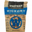 Western Premium BBQ 180 Cubic Inch Hickory Barbecue Grilling Smoking Wood Chips