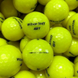 NEW Wilson Staff 50 / Fifty Elite Yellow Bulk Golf Balls - Pick the Quantity!