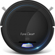 Pyle PUCRC25 PureClean Smart Automatic Robot Powerful Vacuum Cleaner, Black