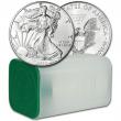 2020 American Silver Eagle 1 oz $1 - 1 Roll - Twenty 20 BU Coins in Mint Tube