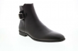 Calvin Klein Lorenzo Tumbled Leather Calf Suede Mens Brown Casual Dress Boots