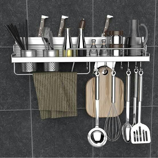 منظم شامل لادوات المطبخ متعدد الوظائف