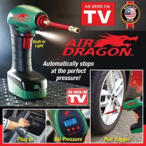 """الكمبروسر المحمول اير دراجون قمة تكنولوجيا الكمبروسر ونفخ الاطارات Air Dragon""""™️Portable Compressor"""